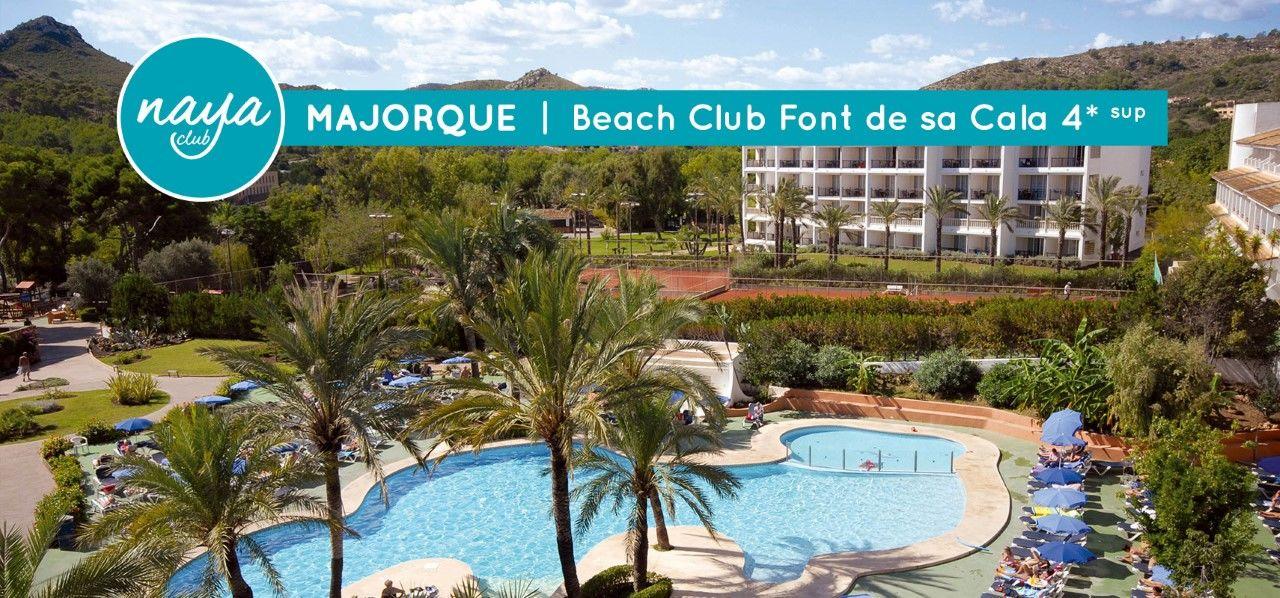 NAYA CLUB MAJORQUE - BEACH CLUB FONT DE SA CALA 4* SUP (NL)